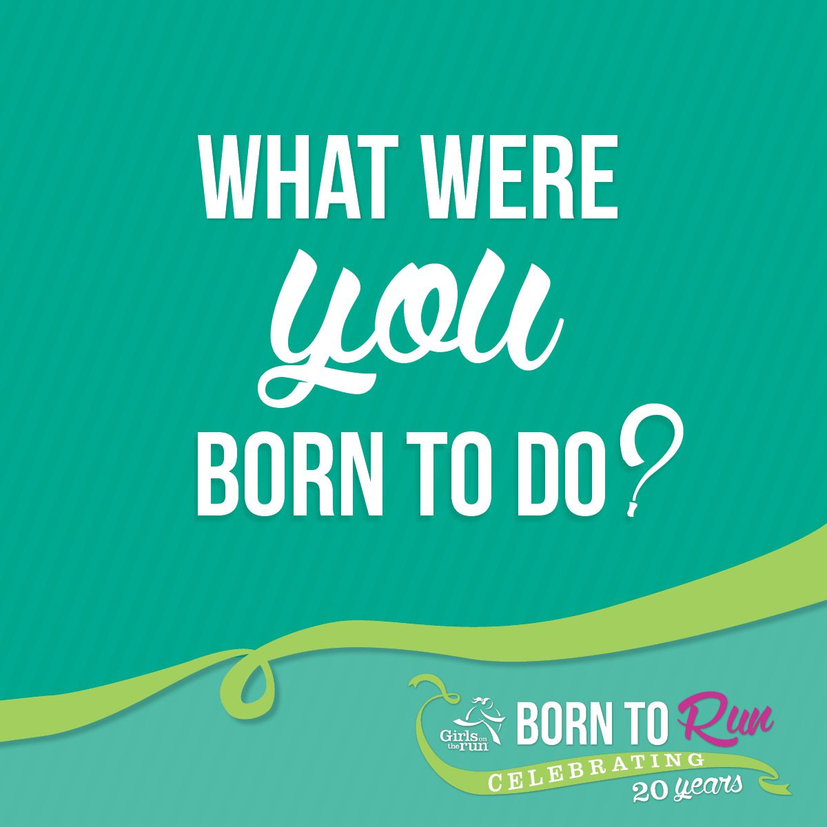 Born to Do Teal